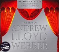 THE BEST OF ANDREW LLOYD WEBBER PLATINUM EDITION 2CD + DVD