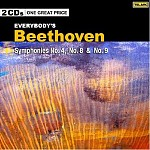 EVERYBODY'S BEETHOVEN: SYMPHONIES NO. 4, 8 AND 9